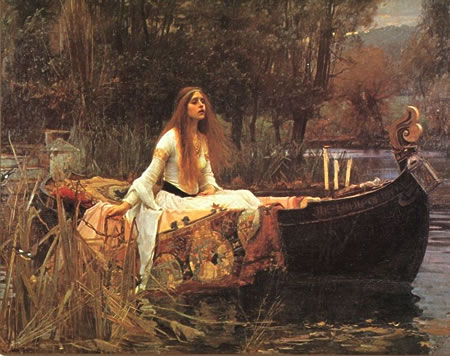 Lady of Shalott - Waterhouse