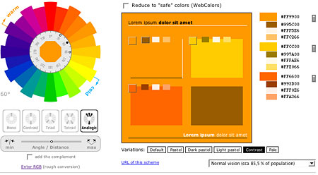 color scheme generator lines and colors a blog about