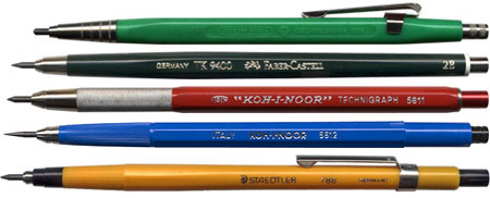 The Drafting Pencil Museum Lines And Colors - Drafting pencil