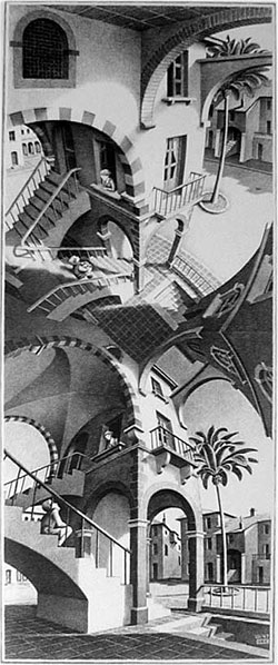 artists similar to escher